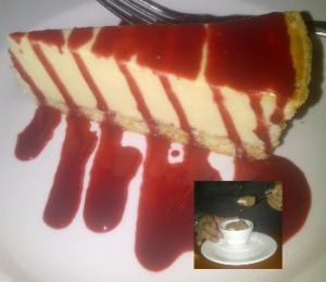 Cheesecake and Tartufo
