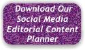 Social Media Editorial Content Planner